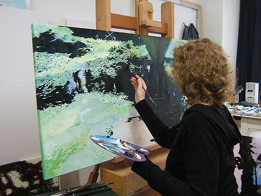 noëlle koppers schildert